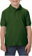 Gildan Double Pique Polo Kids - Forest green
