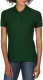 Gildan Double Pique Polo Dames - Forest green