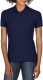 Gildan Double Pique Polo Dames - Navy