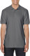 Gildan Premium Cotton Polo Heren - Charcoal