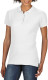 Gildan Premium Cotton Polo Dames - Wit