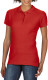 Gildan Premium Cotton Polo Dames - Rood