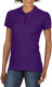 Gildan Premium Cotton Polo Dames - Paars