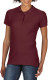 Gildan Premium Cotton Polo Dames - Maroon
