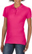 Gildan Premium Cotton Polo Dames - Heliconia