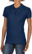 Gildan Premium Cotton Polo Dames - Navy