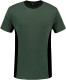Lemon & Soda iTee Workwear T-shirt - Forest green/zwart