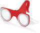 Opvouwbare VR-Glasses - Rood/wit