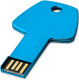 USB stick Key - Lichtblauw