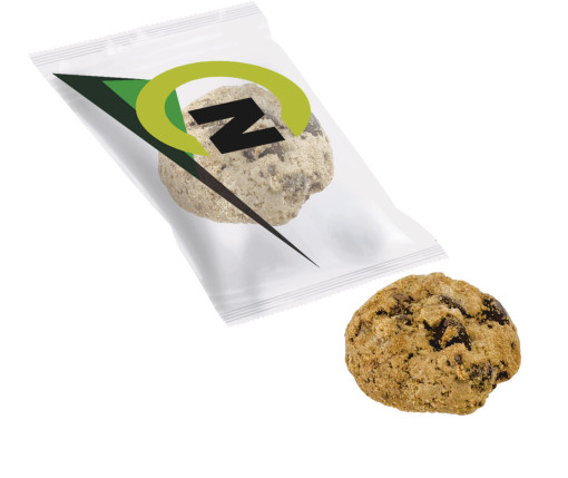 Relatiegeschenk Chocolate chip cookie bedrukken