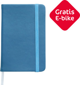 Relatiegeschenk Notitieboek Colour - Met gratis E-bike
