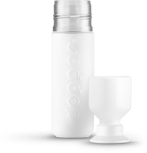Relatiegeschenk Dopper Black 'n White Insulated [350ml] bedrukken