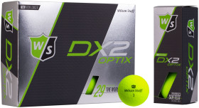 Relatiegeschenk Wilson DX2 Optix , 2-piece golfbal