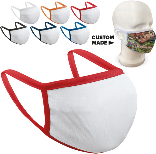 Relatiegeschenk Custom made Gezichtsmasker Fashion